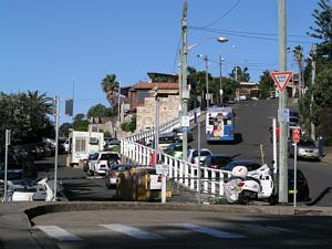 Bronte Beach Cutting, Buses replaced the Bronte Trams